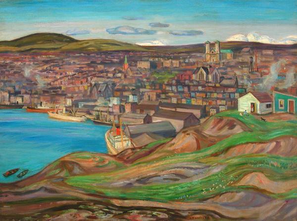 St. John's, Newfoundland - A.Y. Jackson