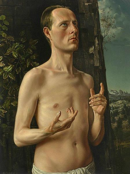 St. John the Baptist (Self-Portrait) - Carel Willink