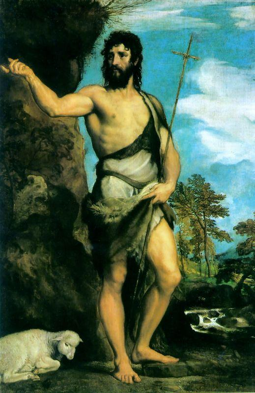 St. John the Baptist - Andrea del Sarto