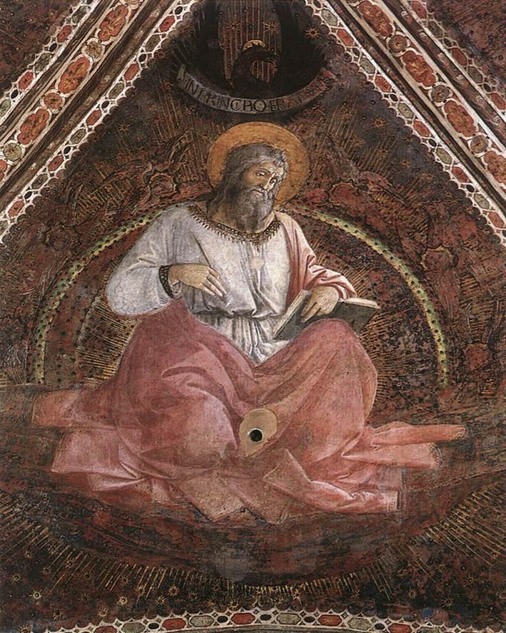 St. John the Evangelist - Filippo Lippi