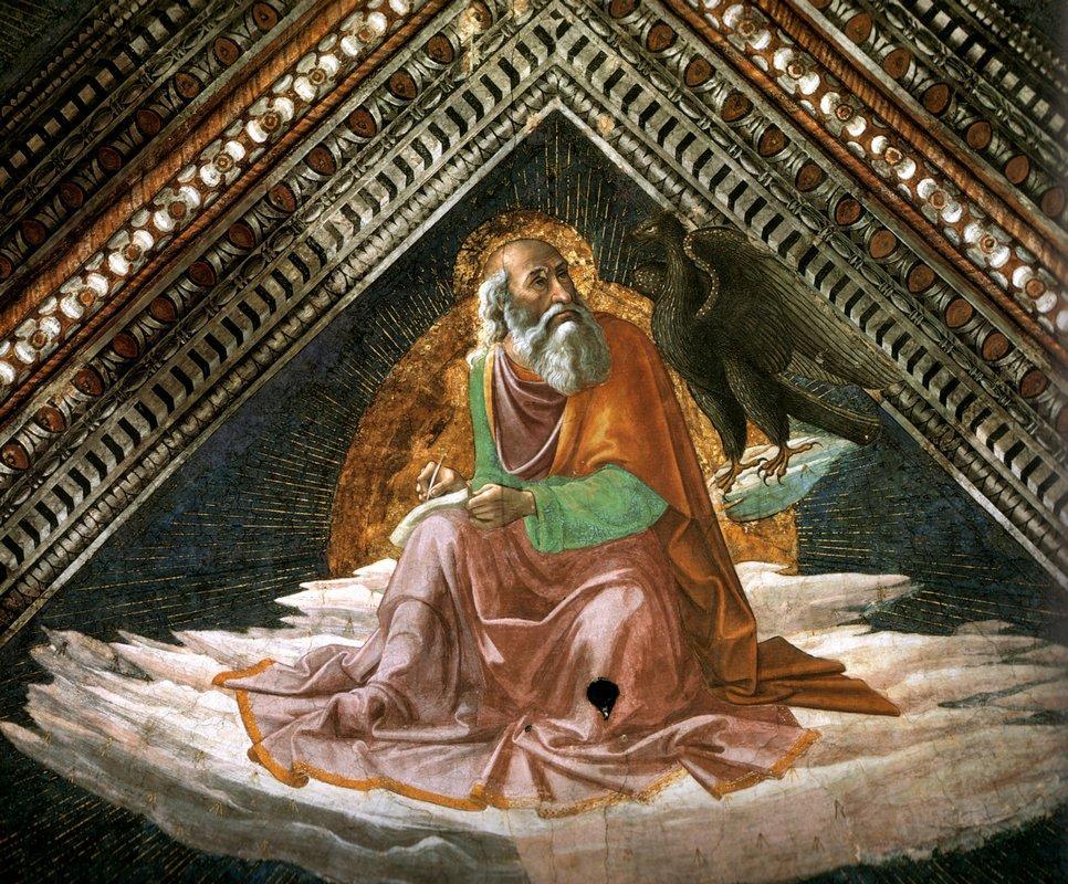 St. John the Evangelist - Domenico Ghirlandaio