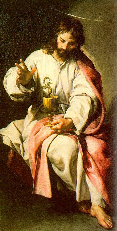 St. John the Evangelist and the Poisoned Cup - Alonzo Cano