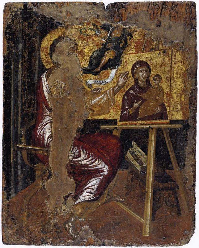 St. Luke painting the Virgin - El Greco