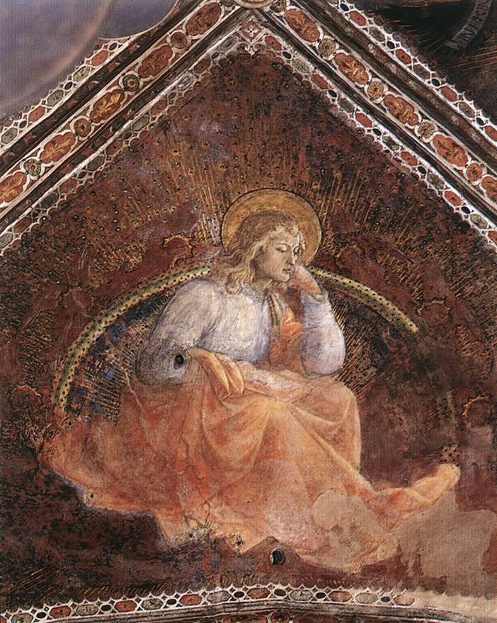 St. Luke the Evangelist - Filippo Lippi