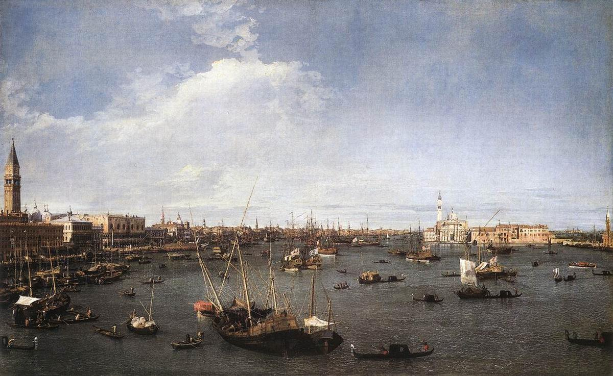 St. Mark's Basin - Canaletto