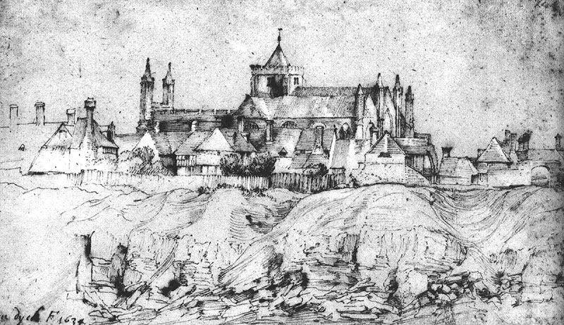 St. Mary's Church at Rye, England - Anthony van Dyck