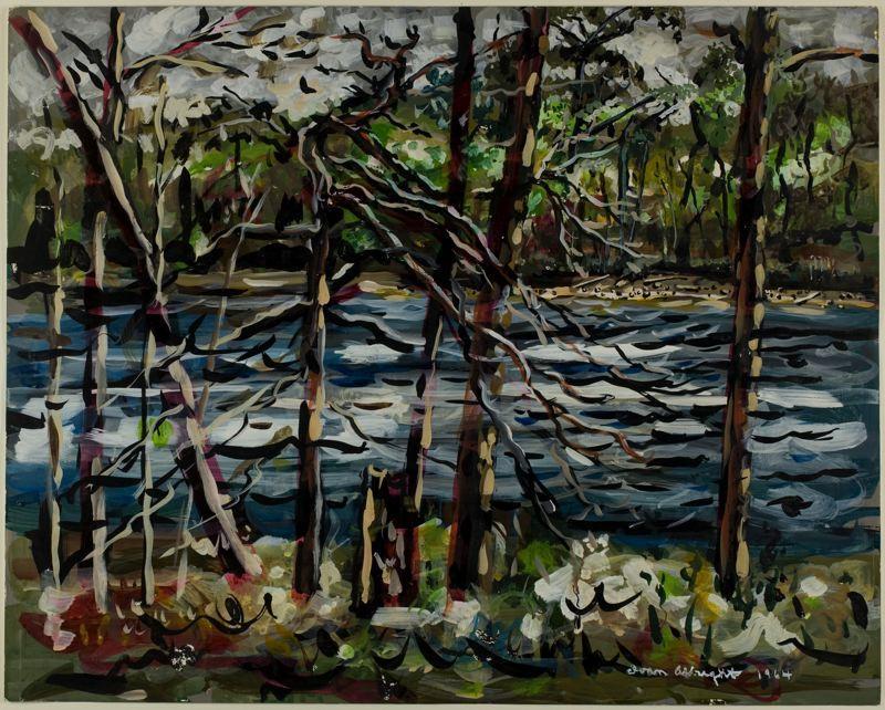 St. Mary's River, Georgia - Ivan Albright