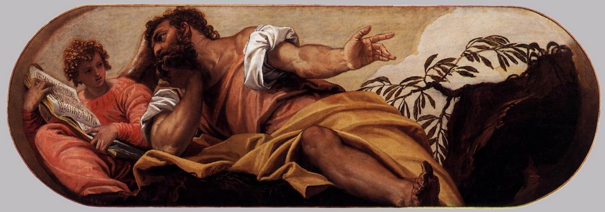 St Matthew - Paolo Veronese