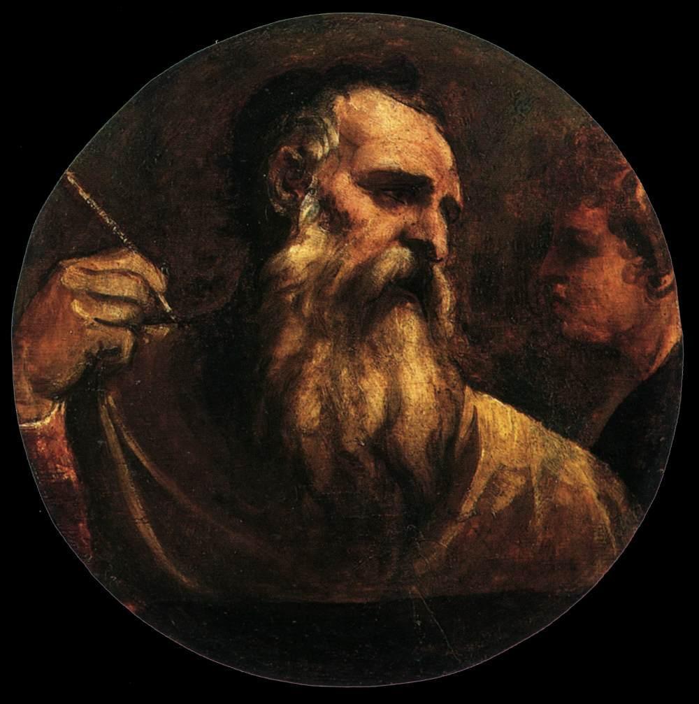 St Matthew - Titian