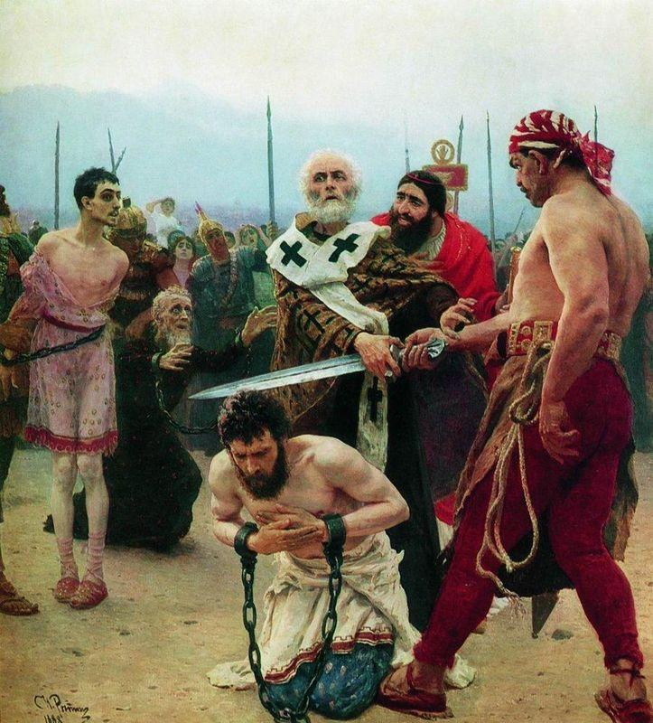 St. Nicholas Saves Three Innocents from Death - Ilya Repin