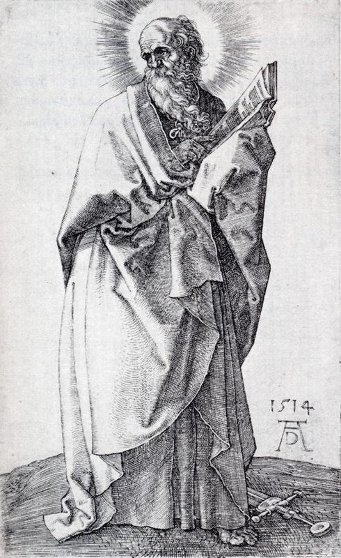 St. Paul (First State) - Albrecht Durer