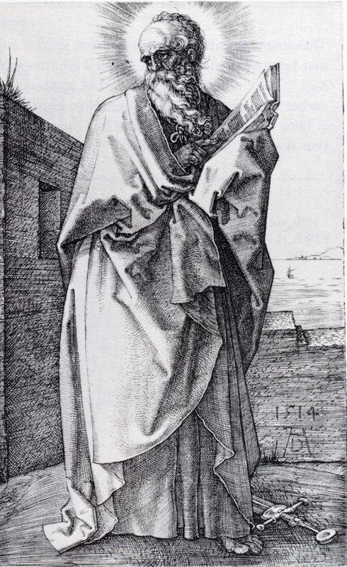 St. Paul (Second State) - Albrecht Durer