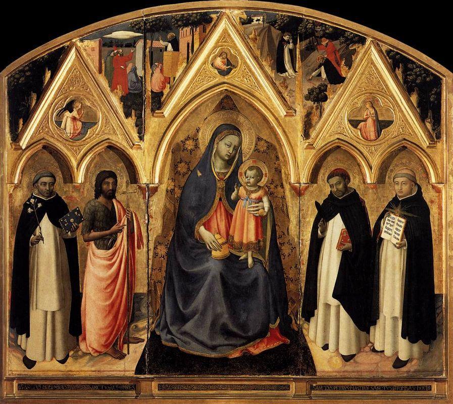 St. Peter Martyr Altarpiece - Fra Angelico