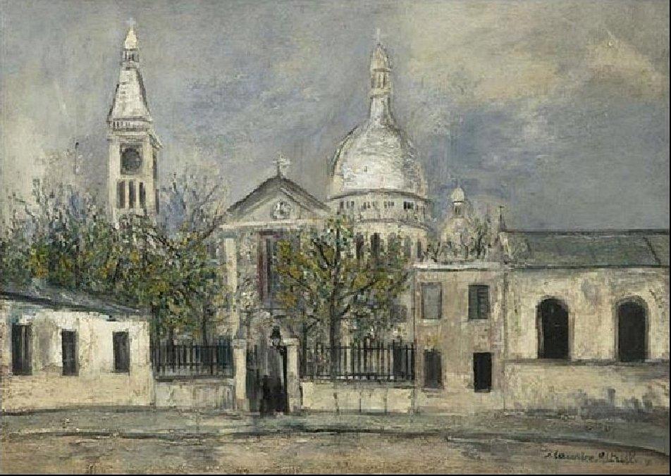 St. Pierre de Montmartre - Maurice Utrillo