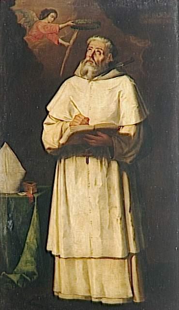 St. Pierre Pascal, Bishop of Jaen - Francisco de Zurbaran