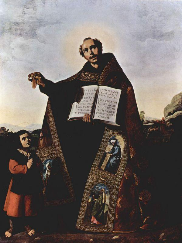 St. Romanus and St. Barulas of Antioch - Francisco de Zurbaran