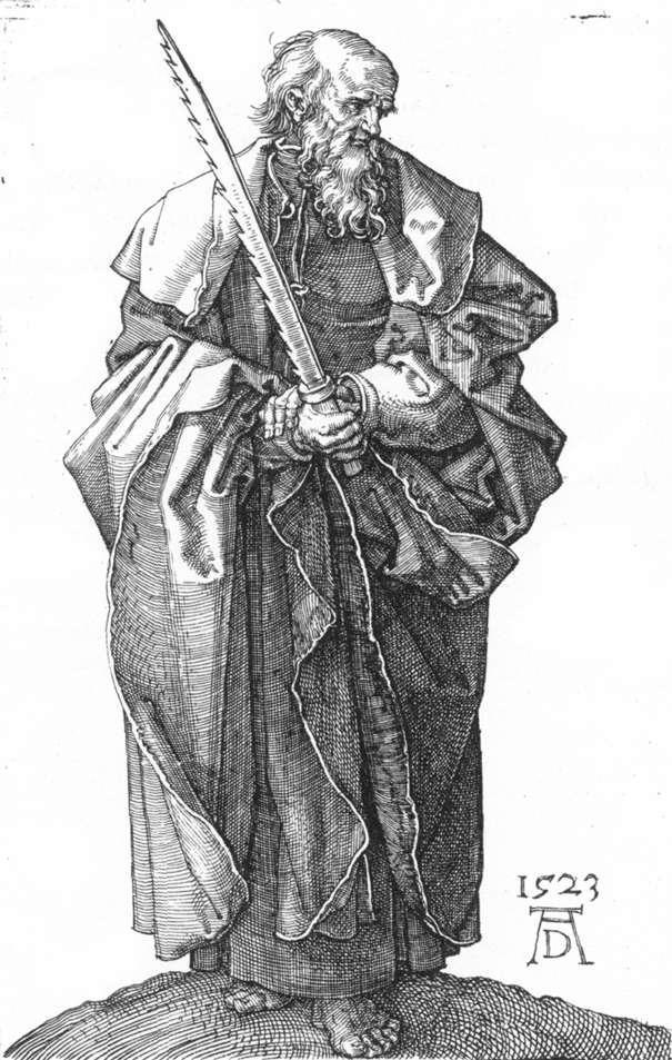 St Simon - Albrecht Durer