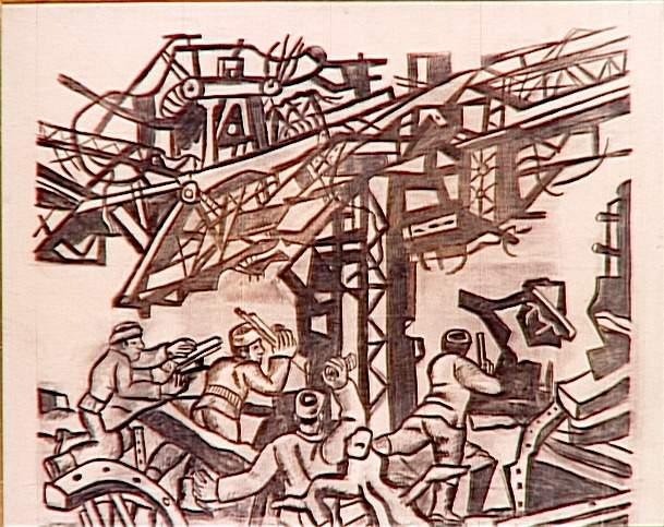 Stalingrad  - Fernand Leger