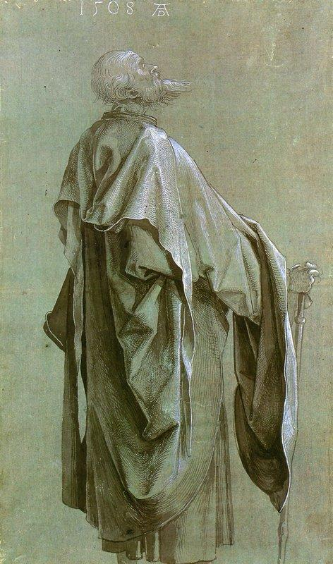 Standing Apostle - Albrecht Durer