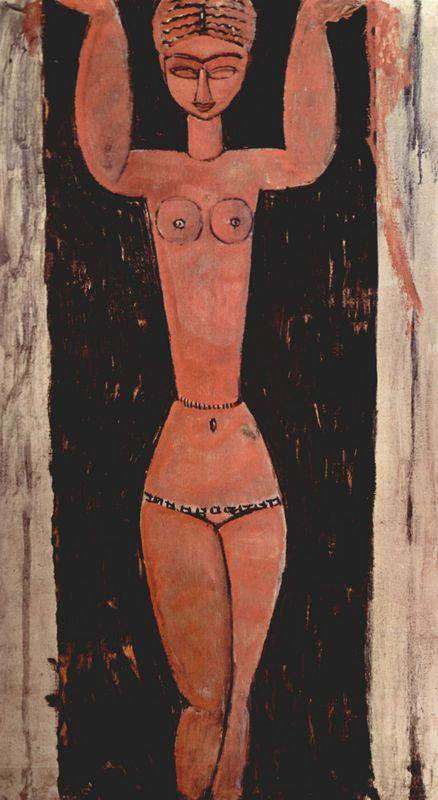 Standing Caryatid - Amedeo Modigliani