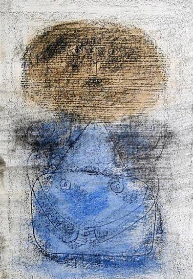 Standing Figure - Alphonse Mucha