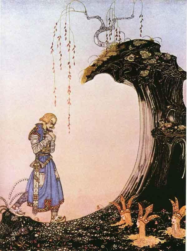 Standing in the Earth up to their Necks - Kay Nielsen