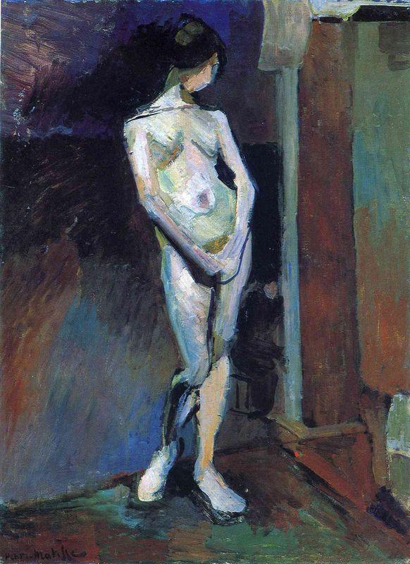 Standing Model - Henri Matisse