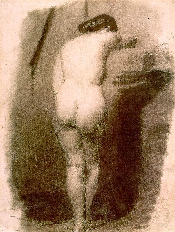 Standing Nude - Thomas Eakins