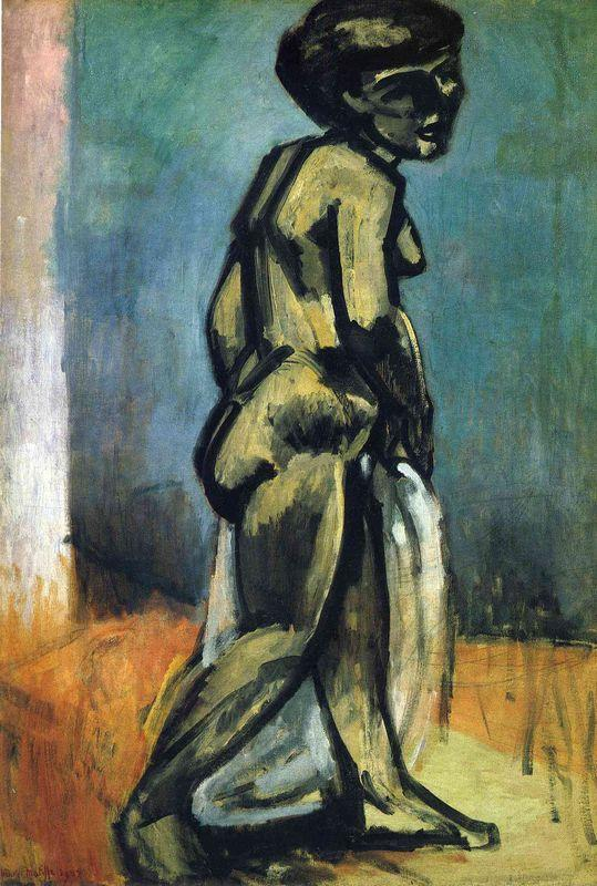 Standing Nude (Nude Study) - Henri Matisse