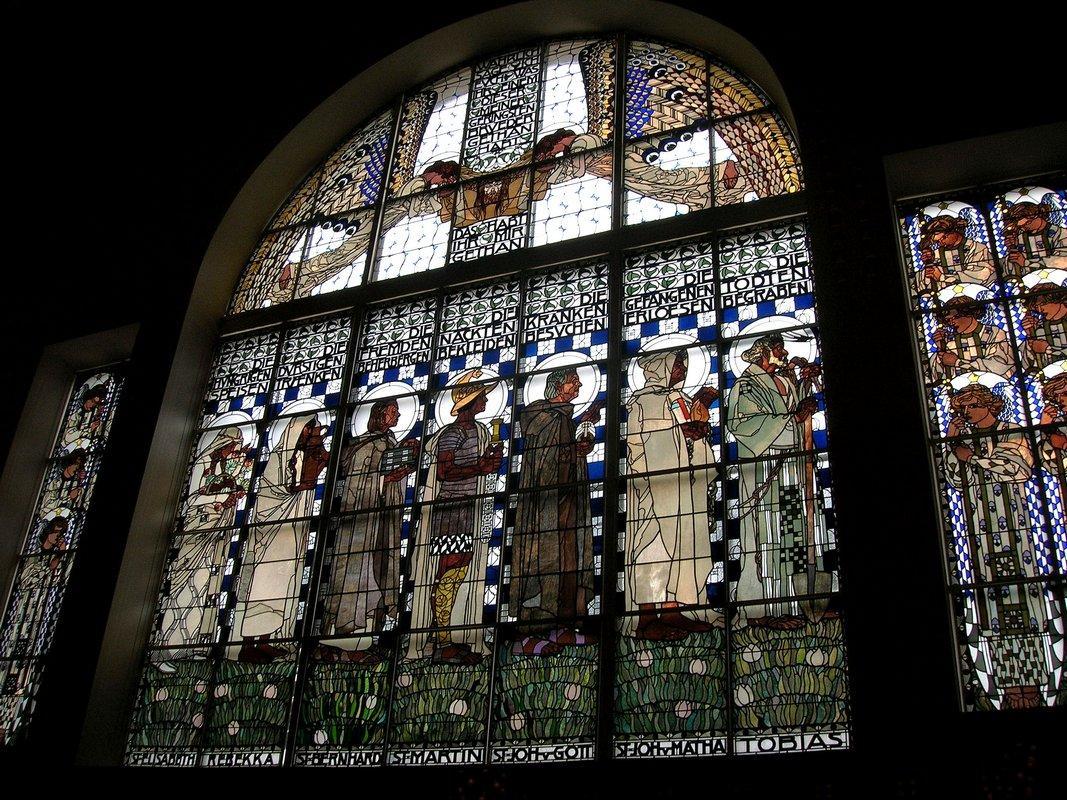 Steinhoch church in Vienna - Koloman Moser