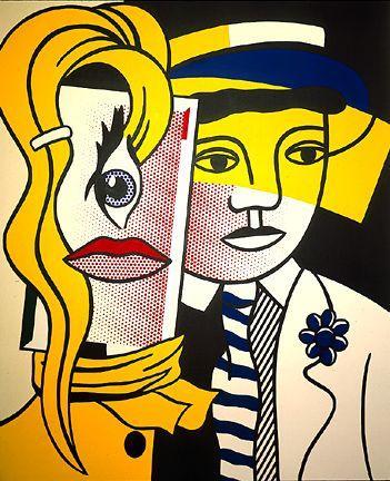 Stepping out - Roy Lichtenstein