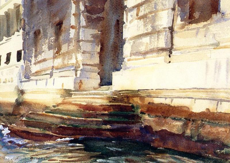 Steps of a Palace - John Singer Sargent