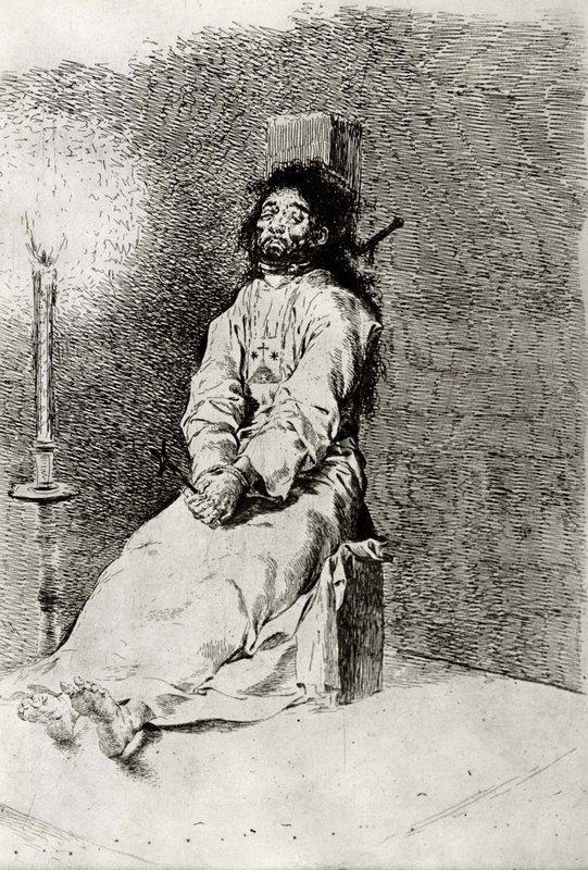 Stiffened - Francisco Goya