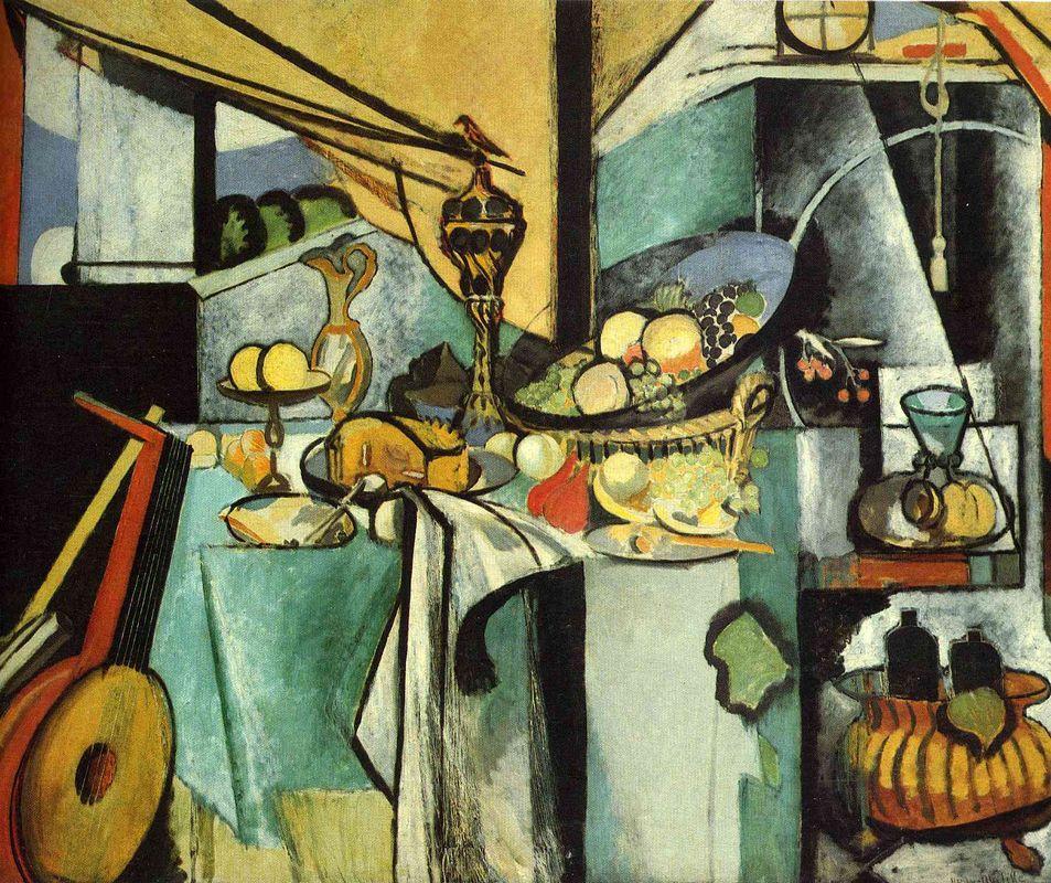 Still Life after Jan Davidsz. de Heem's 'La Desserte' - Henri Matisse