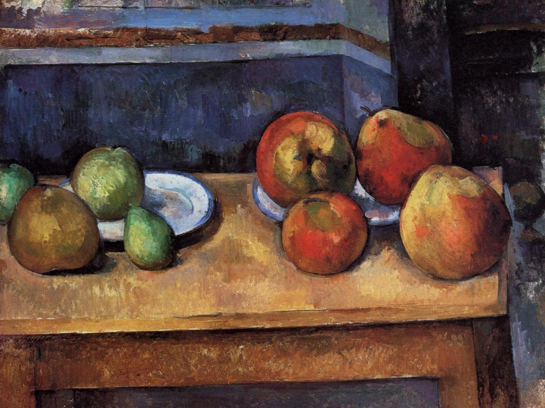 Still Life Apples and Pears - Paul Cezanne