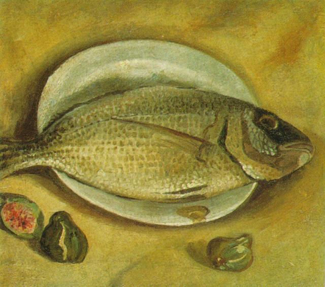 Still Life - Fish - Salvador Dali