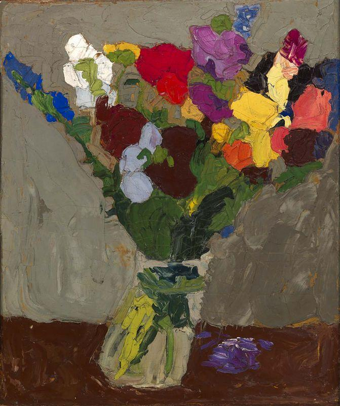 Still Life--Flowers - William H. Johnson