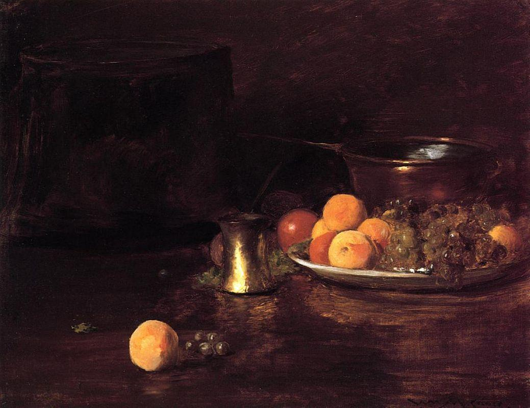 Still Life - Fruit - William Merritt Chase