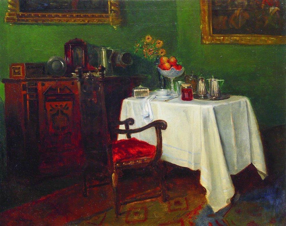 Still Life in an Interior - Konstantin Makovsky
