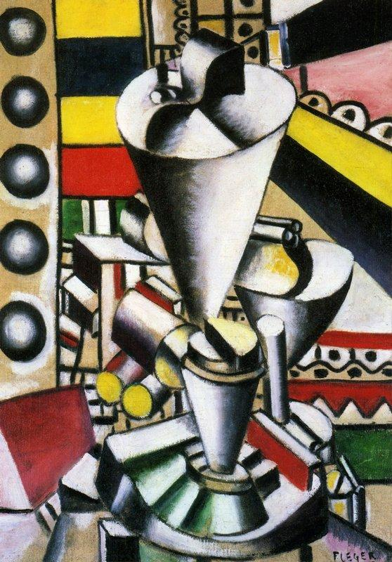 Still life in the machine elements - Fernand Leger