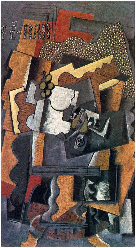 Still Life on a Table - Georges Braque