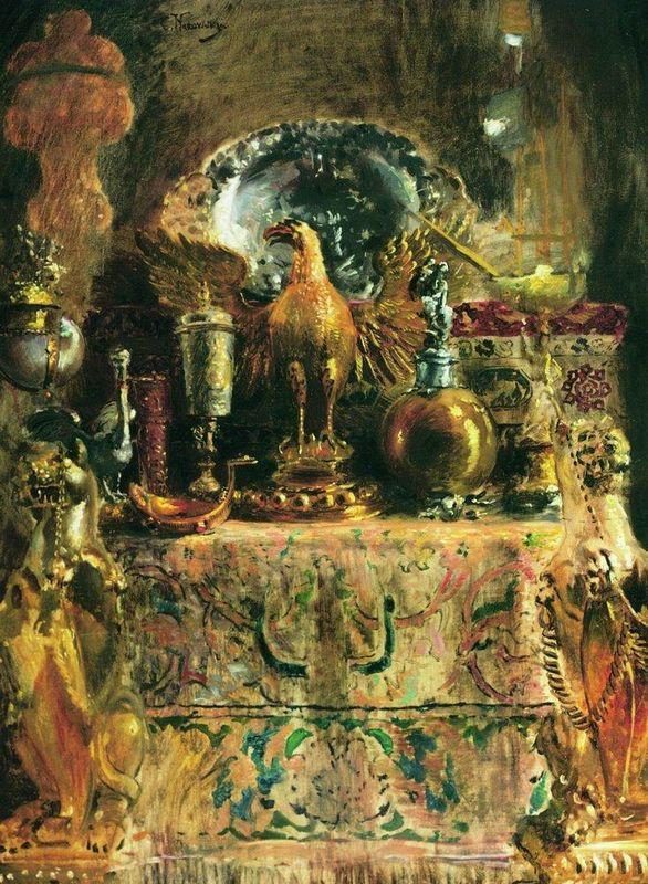 Still Life (Palace of Facets) - Konstantin Makovsky