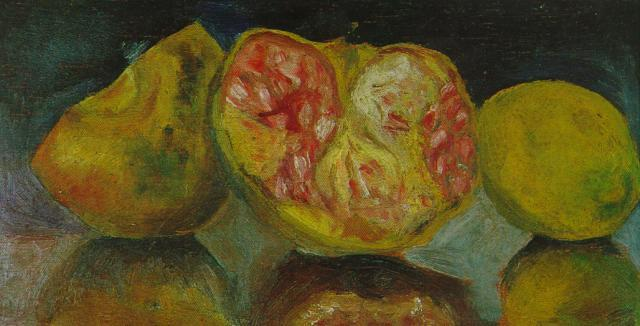 Still Life. Pomegranates - Salvador Dali