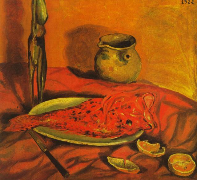 Still Life (Pulpo y scorpa) - Salvador Dali