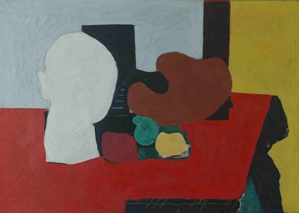 Still Life (Red and Yellow) - Arshile Gorky