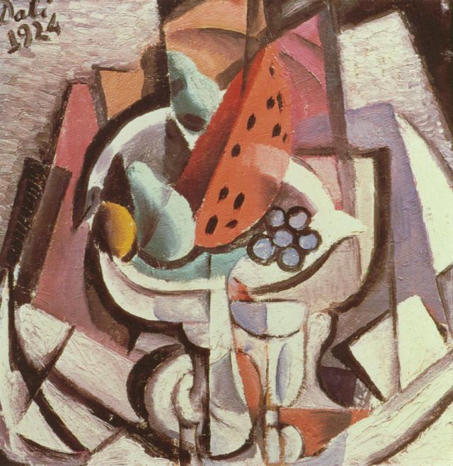 Still Life. Watermelon - Salvador Dali