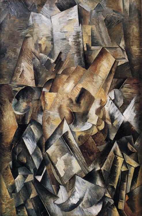 Still Life with a Metronome - Georges Braque