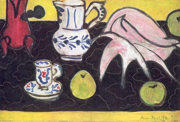 Still Life with a Shell - Henri Matisse
