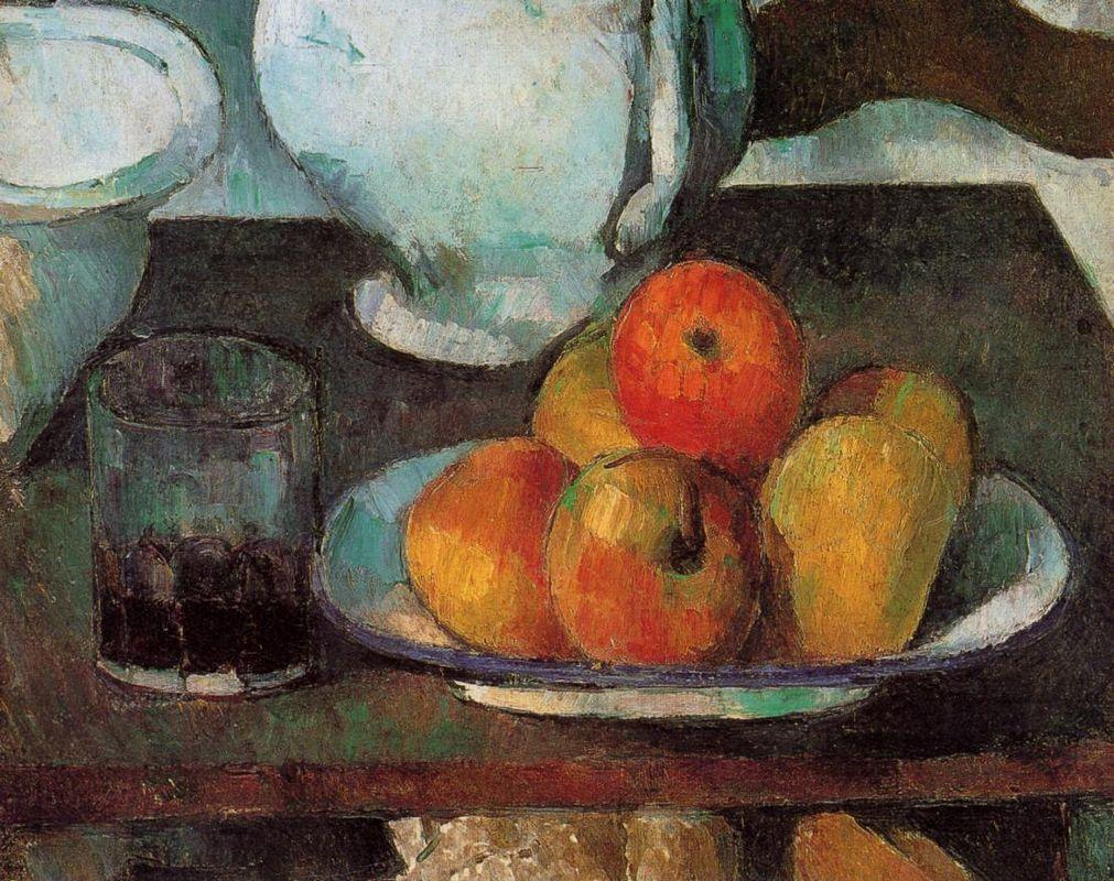 Still Life with Apples - Paul Cezanne