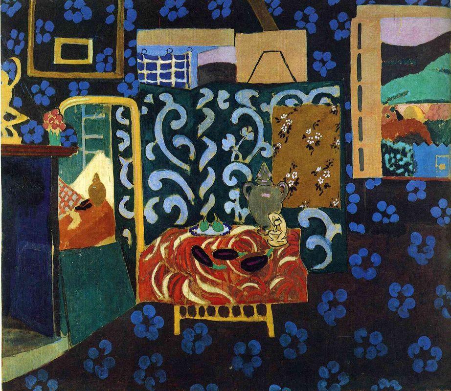 Still life with aubergines - Henri Matisse